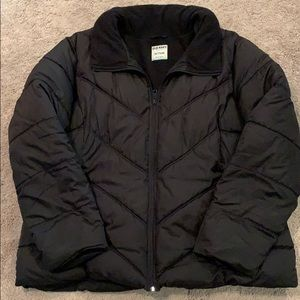 Old Navy Black Puffer Coat